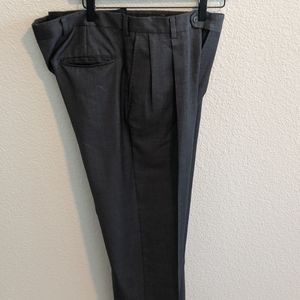 Burberry Dress Pants Charcoal Gray  Size 34/29